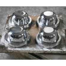 45 # Stahl kundengebundener Melamin-Schüssel-Formteil (MJ-002)
