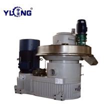 productos calientes séptima máquina de pellets xgj560 yulong