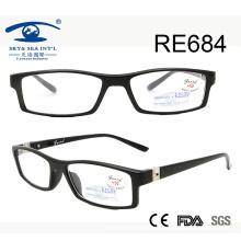 Популярные дизайнерские верхние качественные пружинные шарнирные очки для чтения (RE684)