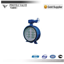 double flanged eccentric butterfly valve china quality products