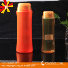 200g y 400g Envase de botella de champú de plástico