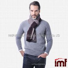 For Men 100% Australia Wool Warm Winter Checked Wholesale Underscarf