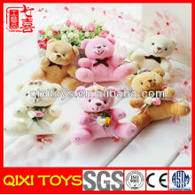 mini plush stuffed bear toy keychain plush keychain bear