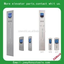 Panneau de commande d'atterrissage d'ascenseur et panneau de commande de voiture panneau de levage panneau de flèche ascenseur