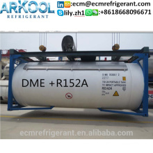 HFC152a/DME Refrigeant gass R152a+DME Dimethyl Ether for good price