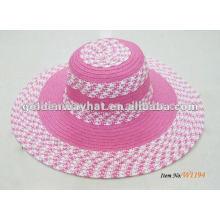 girls wholesale straw wide brim floppy hats