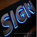 Letras acrílicas do sinal da letra de canal do diodo emissor de luz do mini Lighting 3D