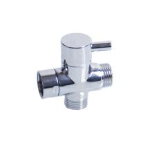 G1/2'' Brass Water Filter Diverter Valve Faucet Tap T-Adapter Splitter Home