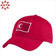 Bequeme Stickerei gedruckt Logo flache Kappe / Hip Hop Cap
