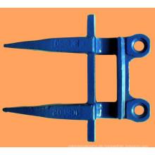Hochwertige Mähdrescher Messer Guard / Mähdrescher Finger für New Holland, Jhon Deere, Case