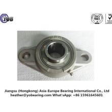Caixa de rolamento de aço inoxidável da unidade de flange oval
