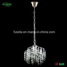 Hochwertige Kristall Eisen E27 Pendelleuchte für Hotel / Haus / Schlafzimmer