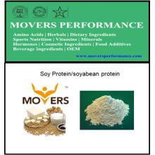 Proteína natural de venta caliente: proteína de soja / proteína de soja