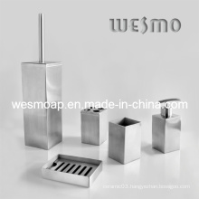 Stainless Steel Bathroom Accessories Set (WBS0530A)