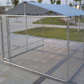 Galvanized Steel Chain Link Mesh Dog Kennel Enclosure