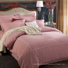 Ins heiße koreanische Linie rosa 100% reines Leinen Bettwäsche von Gold Sufang