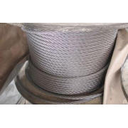 SUS 304 Stainless Steel Wire Cable 7x19 18mm for Digging Ma