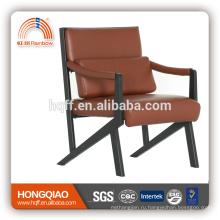Резюме-B211BS роскошный кожаный порошковое покрытие посетителя стул мебель верхнего сегмента