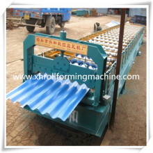 Full Auto Trapezoidal Profile and Corrugated Tile Roofing Sheet Roll Forming Machine