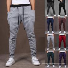 Jogger casual para hombre Sportwear Slacks Pantalones Leisure Sweatpants