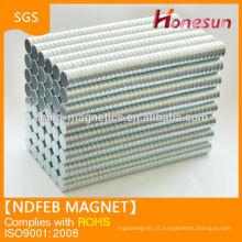 Alta qualidade ndfeb N42 disco ímã china ndfeb ímã Fabricante