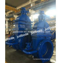 DIN3202 F4 Ductile Iron Gate Valve with Bypass
