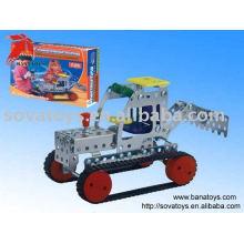 909050525 auto-assemblage machine de récolte die cast car