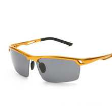 Day Night Vision Glasses Goggle Sunglasses for Driving Car Mens Polarized UV400 Sunglass Male Original Famous Sun Glasses