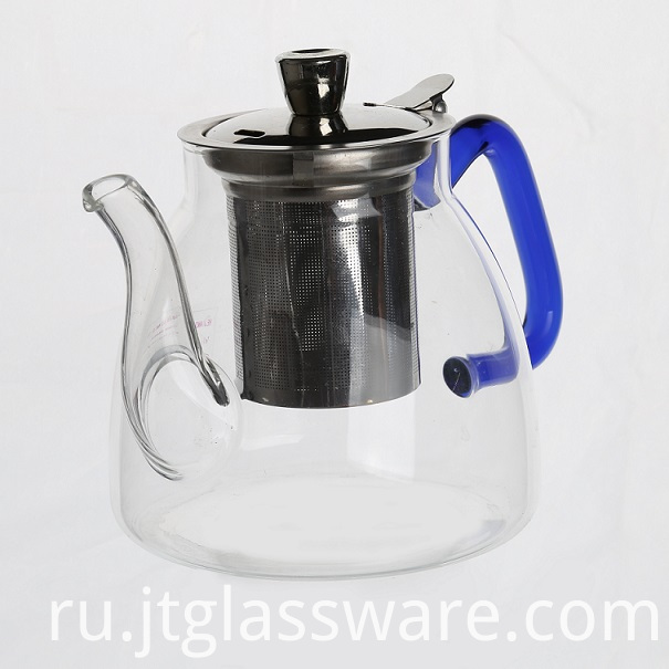 The glass teapot
