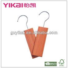 cheap cedar hanger with hook