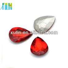 fantasia de vidro talão solta pedra de cristal jóias