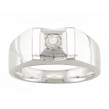 3D-дизайн ювелирных изделий Стальное кольцо и подвеска