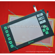 Touch screen JC5 com painel frontal para máquina jacquard Staubli