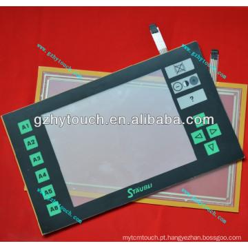Touch screen JC5 com painel frontal para máquina jacquard Staubli