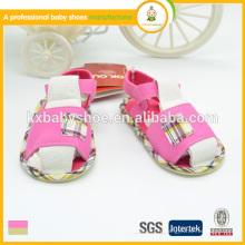 Chaussures de semelle en caoutchouc 2015 le nouveau né pour les chaussures de chaussures de sandales de plusieurs couleurs