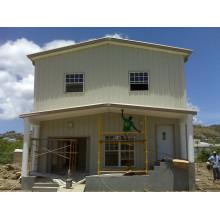 Жилой дом стальной конструкции (KXD-SSB1408)