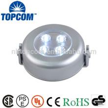 Sur le mur 4 LED Round Shape capteur de lumière interrupteur de lumière