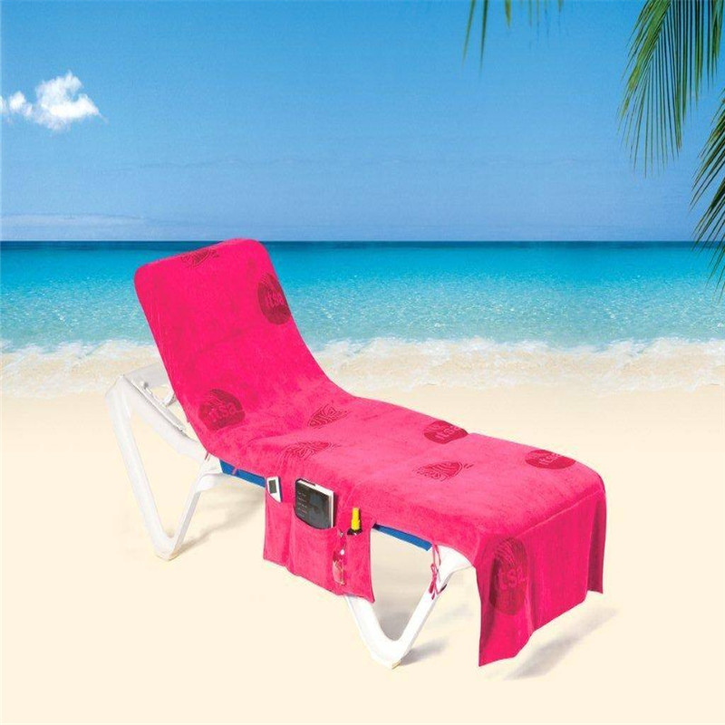 Red Summer Beach Towel