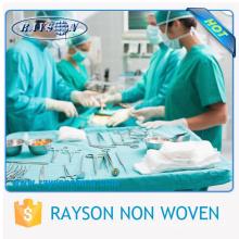 tela descartável cirúrgica, pano cirúrgico não tecido