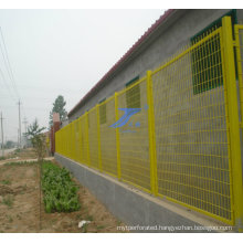 High Quality PVC Coated Frame Wire Mesh Fence (TS-J118)