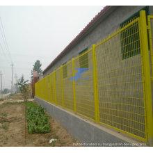 Высокое качество ПВХ покрытием проволоки сетка Заборная (ТС-j118 из)