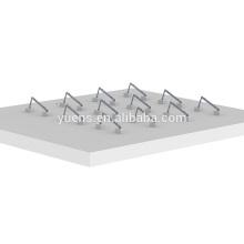Bâti solaire de panneaux solaires de toit de bâti de triangle de montage solaire