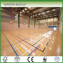 piso de madeira quadra de basquete de alta qualidade em Guangzhou