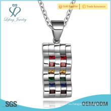 Joyería de plata del amante de la pareja de los pares, joyería personalizada de los pares gay