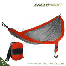 New Design OEM Nylon Hammock (with Straps on Pouch)
