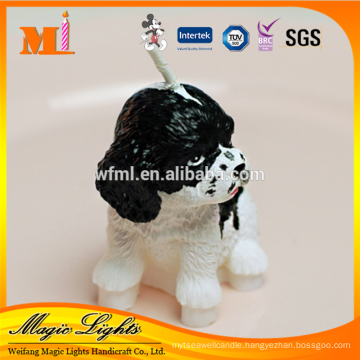 Baby Favors Lively Dog Shape Birthday Gift Candle