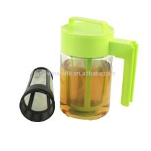 Presente de Natal promocional hermético à prova de fugas BPA-Free Tritan plástico frio Brew cafeteira