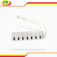 7-портовый USB 3.0 концентратор, 3.0 USB-концентратор, совместимый с USB 2.0 / USB 3.0 / USB1.1