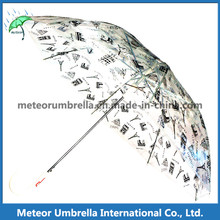 New Items Safe Transparent Clear PVC Printing Bubble Children Umbrella