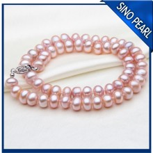 AA 7-8MM Freshwater Pearl Necklace Custom Jewelry Design